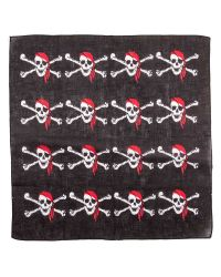 Black Pirate Bandana Scarf