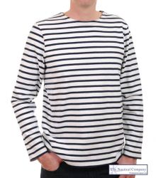 Men's Breton Shirt, Heavyweight Cotton (only SMALL left)
