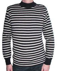 Striped Breton Sweater (Navy Blue/Cream) for Men & Women