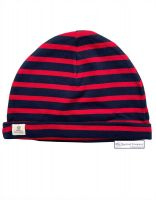 Sailor Cotton Stripe Hats (adults), Navy Blue/Red