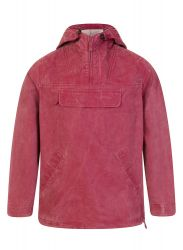Hooded Fisherman's Smock, Distressed Brick