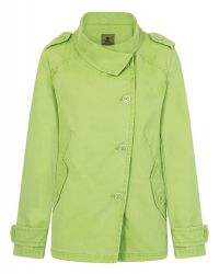 Ladies' Funnel Neck Jacket, Green