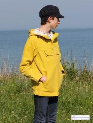 Hooded Fisherman's Smock, Yellow