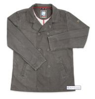 Men's Cotton Reefer Jacket, Distressed Brown