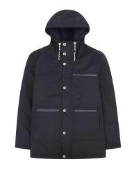 Men's Winter Parka, Waterproof, Navy Blue