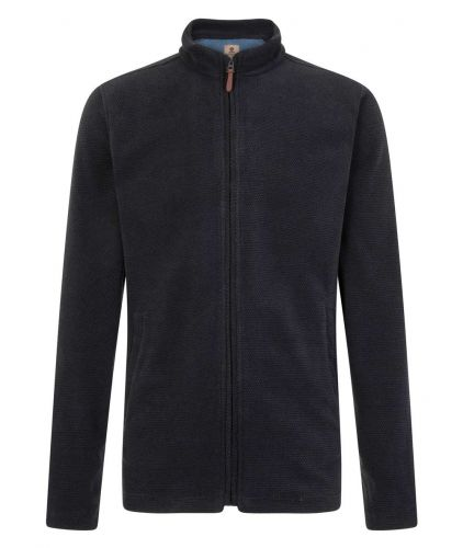 Mousqueton Men's Fleece Jacket, Navy Blue (only XXL & 3XL left)