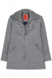 Women's Mousqueton Winter Quilted Coat, Grey