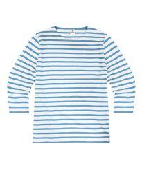 3/4 Sleeve Stripe Top, Royal Blue