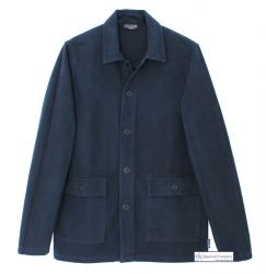 Navy Blue French Chore Jacket