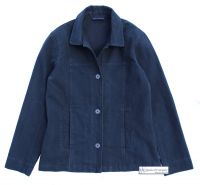 Women's Cotton Jacket, Navy Blue