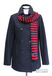 Women's Pea Coat (Revised), Wool Blend