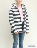 Women's Striped Raincoat (padded)