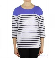 Colour Block Striped Top, Royal Blue (only UK 10 - FR 38 - US 6 left)