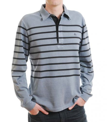 "Men's Striped Rugby Shirt (only 38"" left)"