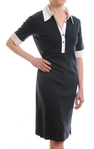 Navy Blue Polo Shirt Dress (only UK 12 - FR 40 - US 8 left)