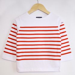 Children's Sailor Top, White/Red (only 6 yr old left)