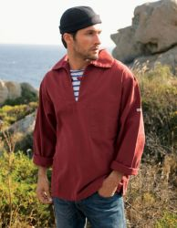 Saint James Fishermans Breton Smock, Red Brick