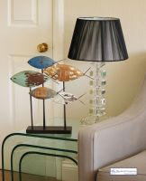 Shoal of Large Contemporary Fish Art